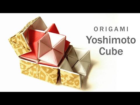 吉本キューブ【折り紙】 Origami Yoshimoto Cube
