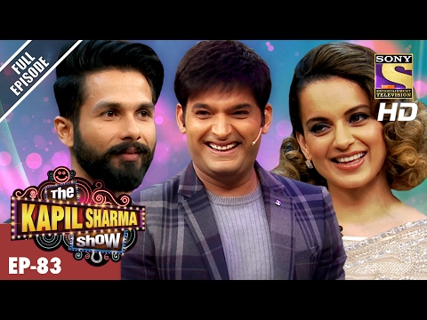 The Kapil Sharma   दी कपिल शर्मा शो Ep83  Shahid And Kangana In Kapil's  –19th Feb 2017
