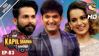 The Kapil Sharma Show दी कपिल शर्मा शो Ep 83 Shahid And Kangana In Kapil