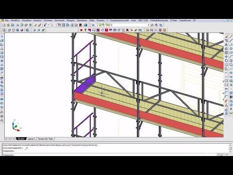 Demo PON CAD - Esempio Di Disegno Di Ponteggio - 2009