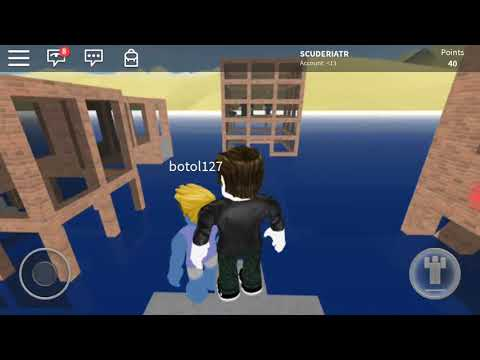 Flood Survival with botol127. Roblox indonesia