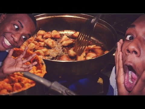 COOKING WITH A BLACK MAN! - MonstahCooks