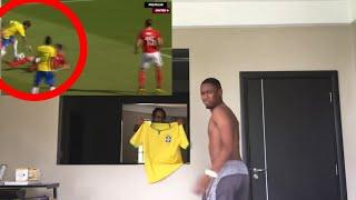 LMFAO NEYMAR BREAKS ANKLES! Brazil 3-0 Austria Reaction