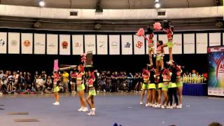 ACIC 2017 39 FROOTO FIVE Indonesia Team Cheer Senior All Girl Intermediate [HD]