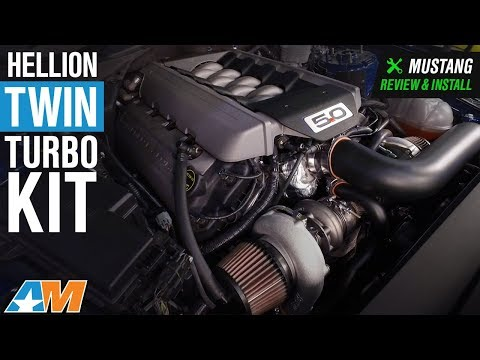 20152017 Mustang GT 500 HP Hellion Twin Turbo  Complete Kit Review & Install