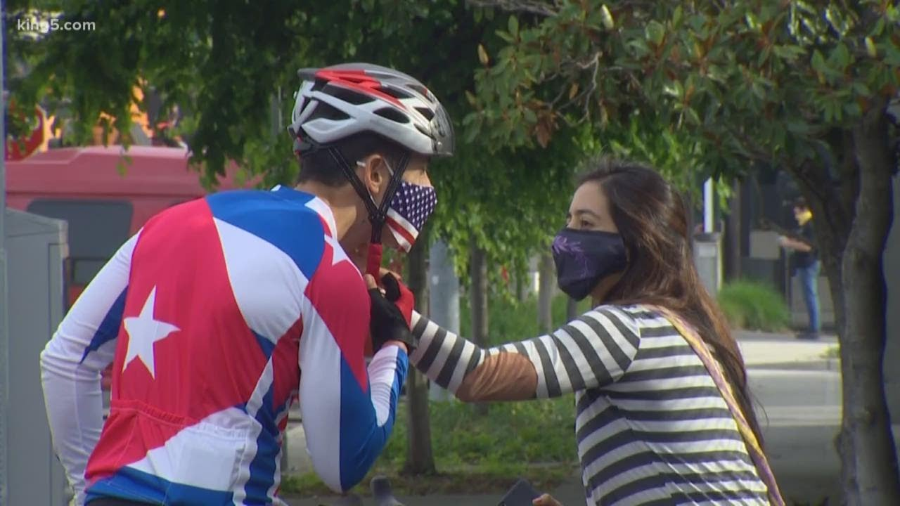 Bothell teacher biking 3,000 miles to D.C. with a message about Cuba for President Trump