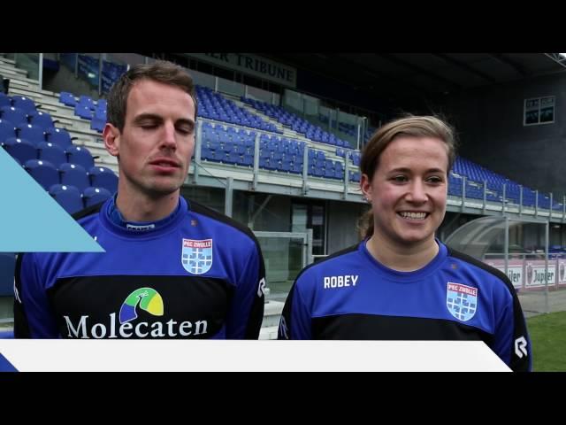PEC Zwolle Mannen vs Vrouwen - Aflevering 4