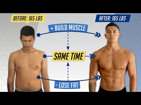 how-to-lose-fat-and-gain-muscle-at-the-same-time-(3-simple-steps)