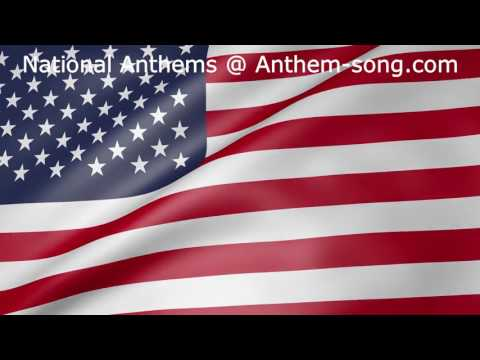 United States of America National Anthem - The Star-Spangled Banner Instrumental Video