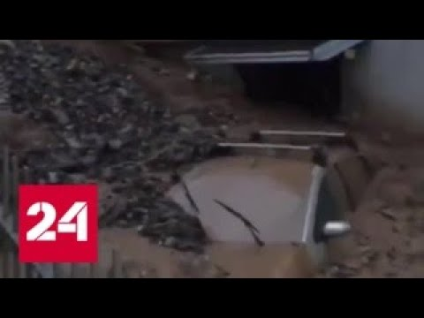 Италия и Австрия пострадали от наводнений - Россия 24