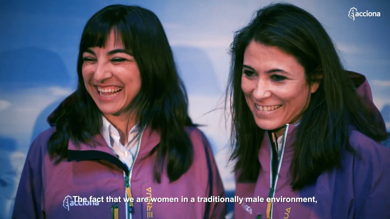 First Antarctic expedition by Spanish women scientists against climate change | ACCIONA