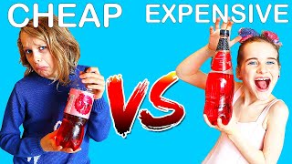 CHEAP VS EXPENSIVE Guessing Challenge w/ The Norris Nuts