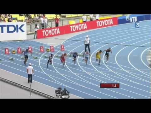 Daegu 2011 - 100m - Sogelau Tuvalu 15,66s