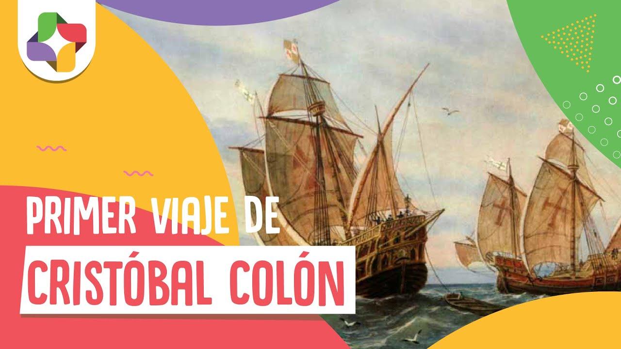 Primer Viaje de Cristobal Coln  Historia  Educatina  YouTube