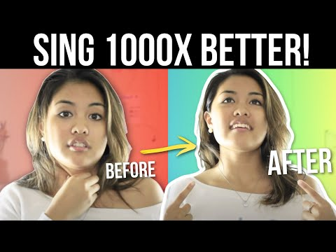 HOW TO SOUND BETTER WHEN YOU SING! (FOR BEGINNERS)