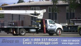 Terex BT 3470 Boom Truck for Sale - Bigge Crane and Rigging