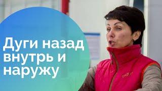 Как научиться кататься на коньках 12 Дуги назад внутрь и наружу(Как научиться кататься на коньках с Еленой Назаренко. Мы поможем научиться кататься на коньках просто и..., 2014-03-10T13:53:56.000Z)