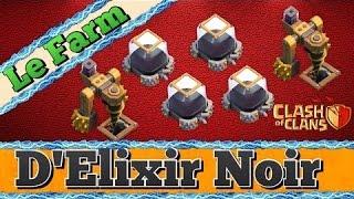 Farmer l'elixir noir en champion 3 Hdv 9 10 11 /Clash of clans FR