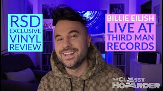Ep 10: Billie Eilish (Live at Third Man Records) RSD Exclusive Vinyl Review