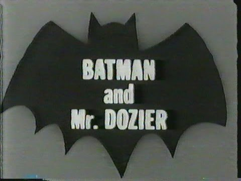 Batman and Mr. Dozier - 1966 Telescope Biography with Fletcher Markle
