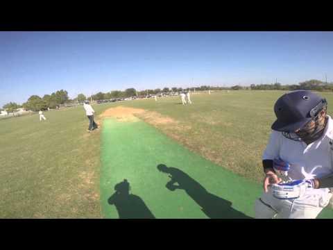 GoPro Cricket - T20 100 Partnership - Ankit and Vamsi - Unedited