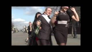 Креативный клип свадебной прогулки