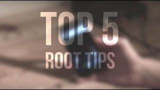 Top 5 Tips for rooted android users | 5 things to do before you root