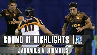 ROUND 11 HIGHLIGHTS: Jaguares v Brumbies
