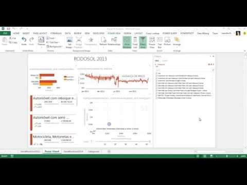 Power BI - Análise dos dados de arrecadação da Rodosol