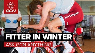 How Can I Get Fitter In Winter?   Ask GCN Anything