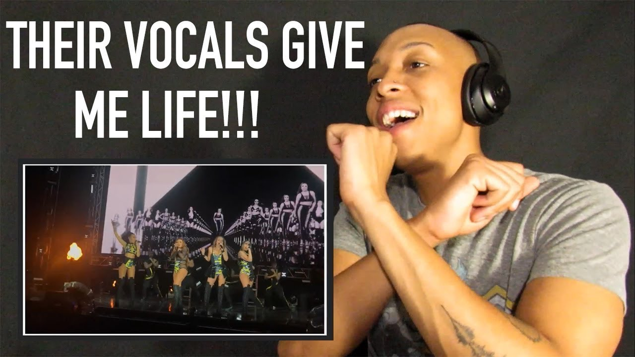 Little Mix   SHOUT OUT TO MY EX LIVE @ GLORY DAYS TOUR (REACTION)