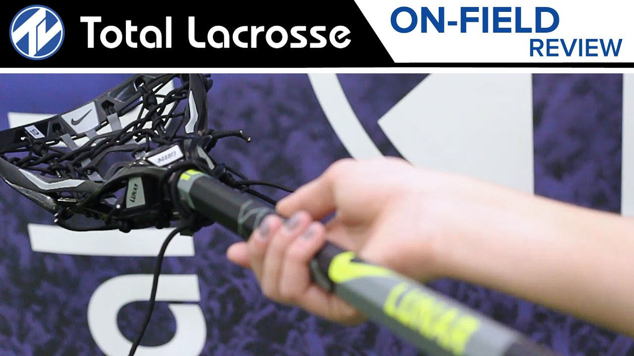 promo code 486a5 21b80 Nike Lunar Elite 10° Complete Stick    On-Field Review. Total Lacrosse