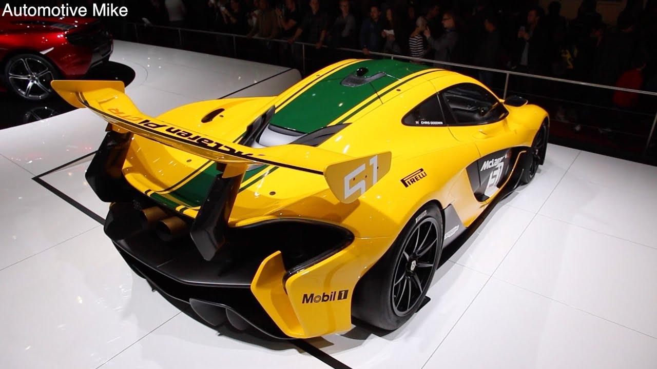 Mclaren p1 gtr extreme track weapon unveiled pictures - Mclaren P1 Gtr Geneva 2015