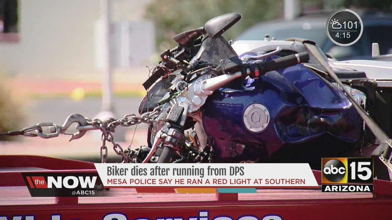 Police release name of man killed in Mesa motorcycle accident