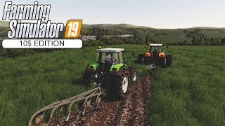 New tractor, Straw bailling! ★ Farming Simulator 2019 Timelapse ★ Shamrock valley ★ Episode 10