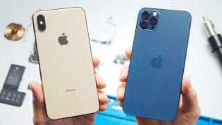 Превращаем iPhone XS в 12 Pro Max