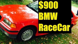 Bmw Race Car Build For $900