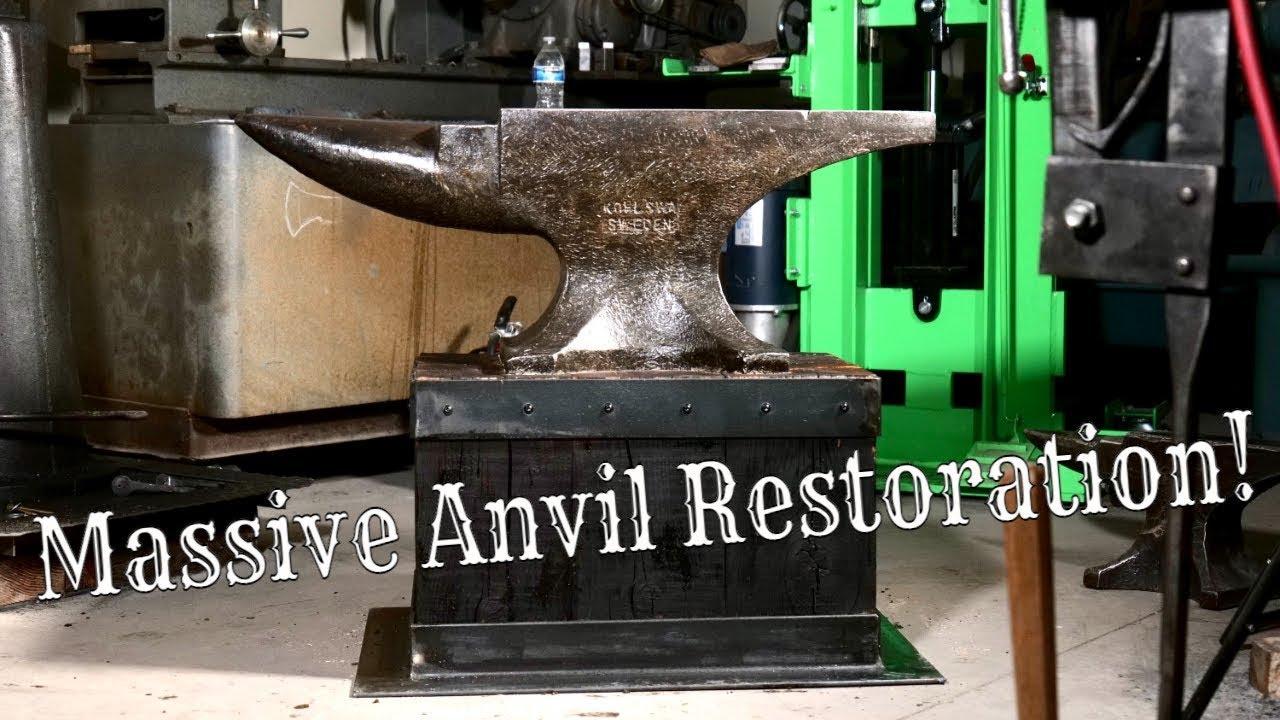 Massive Anvil Restoration!