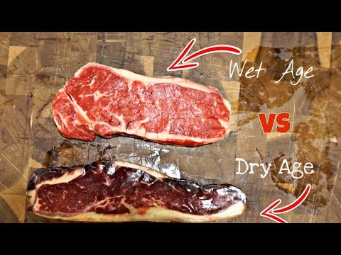 Dry Age VS Wet Age STEAK! Which is KING?!