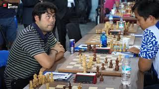 Final moments of Nakamura vs Bu Xiangzhi | USA vs China| Batumi Olympiad 2018