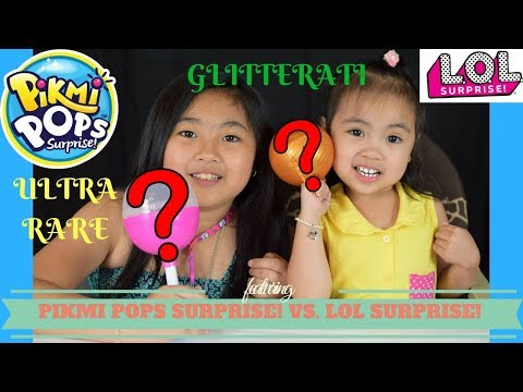 NEW CRAZE Pikmi Pops Surprise vs. LOL Surprise Doll!!!