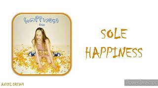 "Cover images SOLE (쑬) ""HAPPINESS"" LYRICS (HAN/ROM/ENG/가사)"