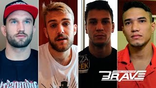 Fighters and corners talk about their experience at Brave 1