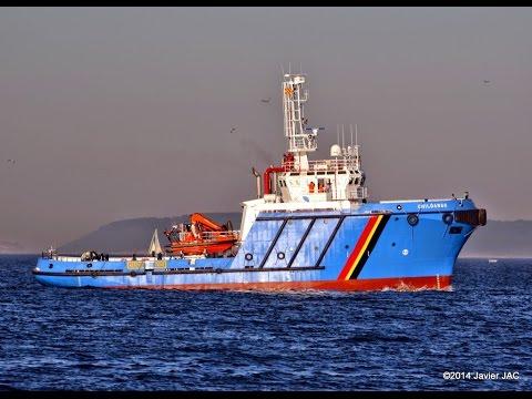 Grandes construcciones en los astilleros de Vigo