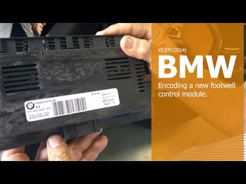 Testing Replacing And Encoding A Bmw Footwell Control
