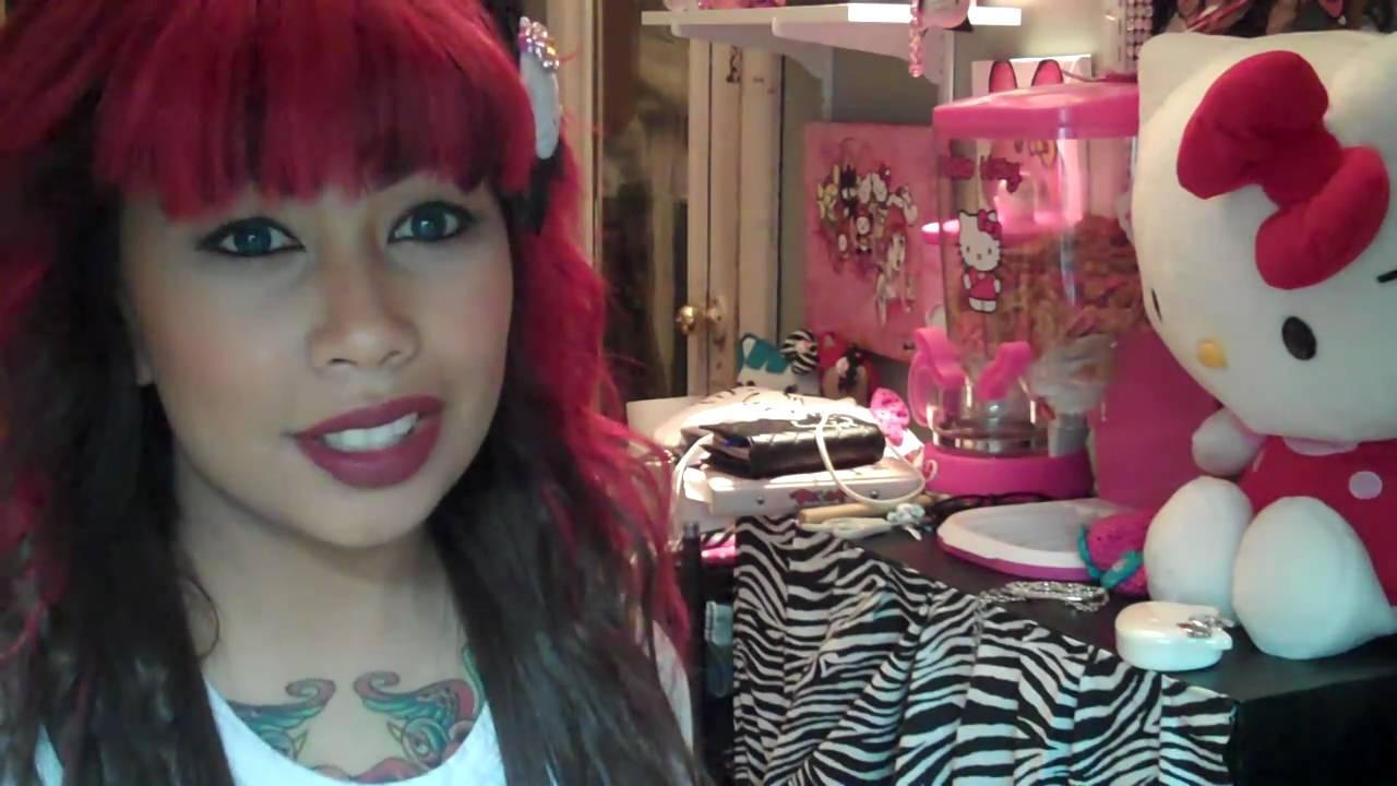 Manic Panic Rock N Roll Red Hair Dye Youtube