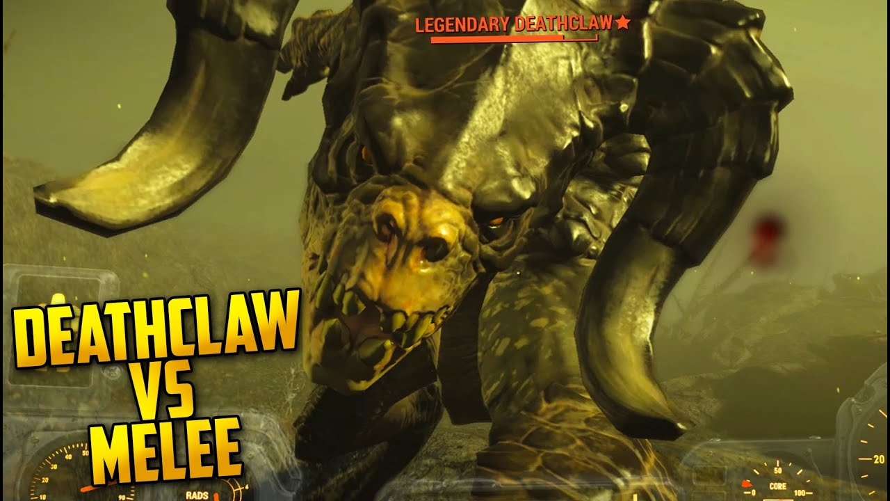 Legendary Deathclaw Fallout 4 - Survival L...