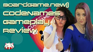 Codenames Gameplay Review - BoardGame.new()