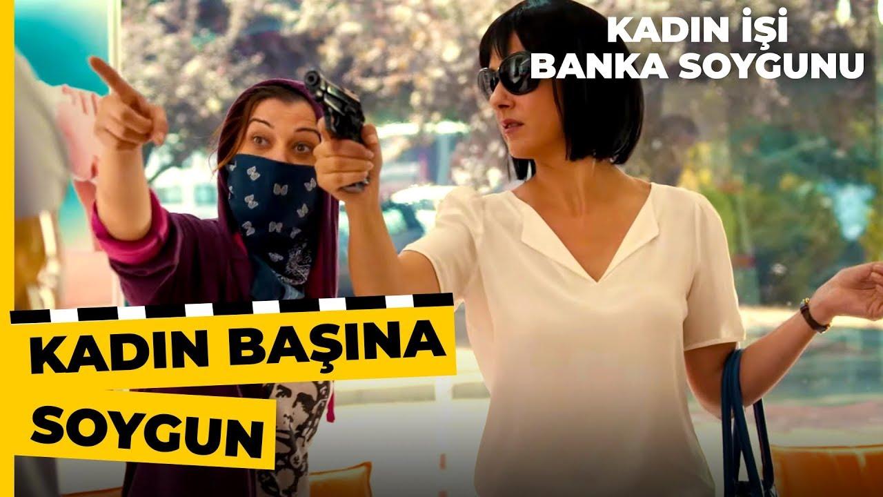 Bilge ve Gülay, Soygun İçin Bankaya Giriş Yaptı! | Kadın İşi Banka Soygunu