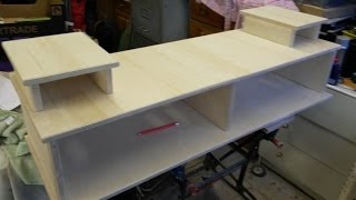 TV unit construction from Baltic Birch Plywood